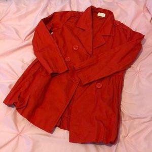 Beautiful red coat !!